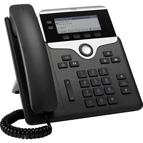 Cisco 7821 Twoline Ip Phone (charcoal) Cp7821k9 B&h Photo