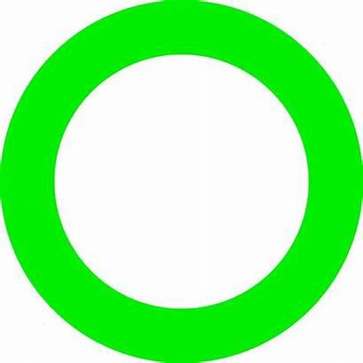 Circle Clipart Neon Transparent Lime Svg Map