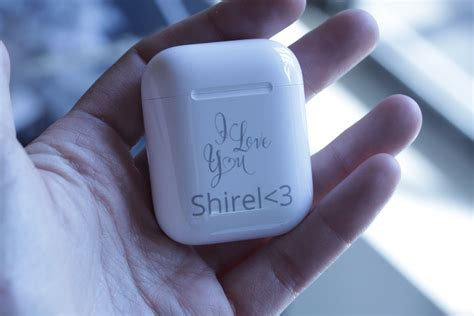 custom branded apple airpods   flash laser ipad