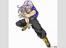 How to Draw Trunks, Dragon Ball Z