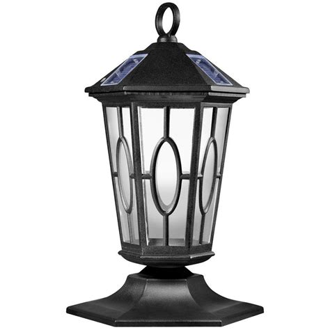 newport coastal carousel outdoor black solar led hanging