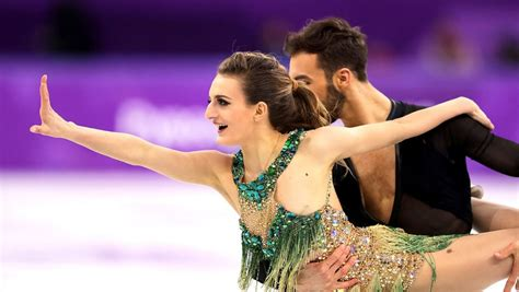 French Ice Dancer Gabriella Papadakis Breast Exposed Live