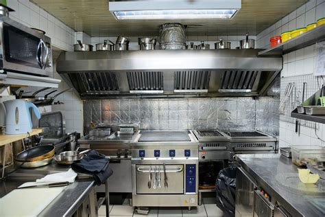 Small Restaurant Kitchen Layout Ideas - industrial degreaser cleaning solution for hoods