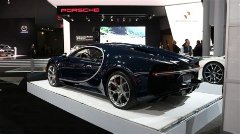 Just the same unit has been recently spotted in new york. America Ruined The Bugatti Chiron With These Bumper Pads