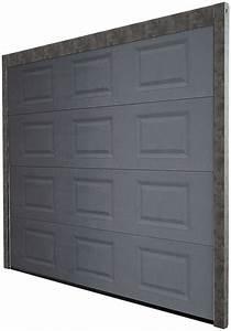Brico Depot Porte De Garage : porte de garage sectionnelle motoris e en acier h 200 cm l 240 cm grise brico d p t ~ Maxctalentgroup.com Avis de Voitures