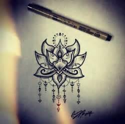 Lotus flower tattoo design, henna lotus | Bohemian ...