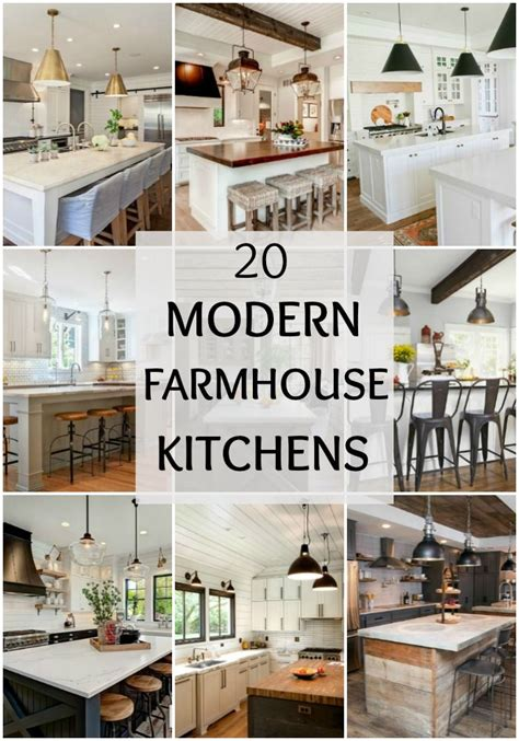 Fixer Kitchen Decor Ideas by 20 Modern Farmhouse Kitchen Ideas Ideas From A Blissful