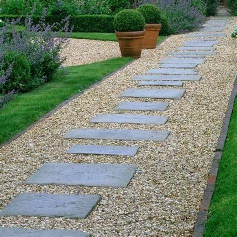 pea gravel lined  brick  pavers   sizes