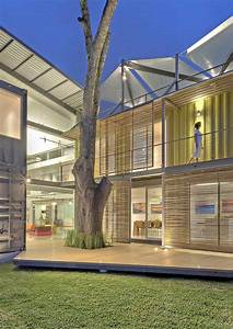 8 Shipping Containers Make Up A Stunning 2