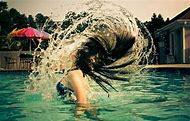 Swimming Pool Chlorine Hair