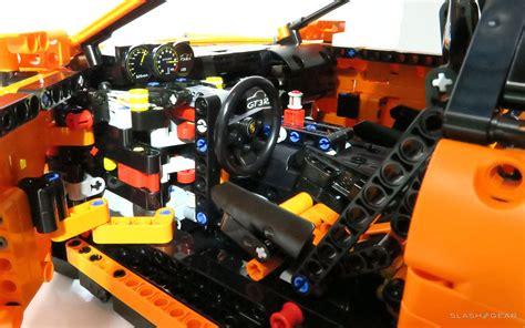 lego technic porsche 911 lego technic porsche 911 gt3 rs review slashgear