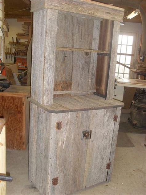 barn wood projects barnwood cabinet by okwoodshop lumberjocks