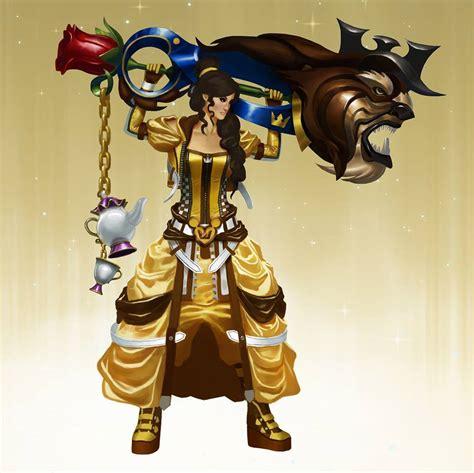 Kingdom Hearts Keyblade Princesses Fan Art