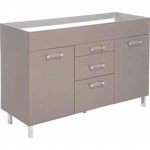 Conforama Meuble De Cuisine : meuble bas de cuisine blanc meuble bas cuisine 120 cm ~ Premium-room.com Idées de Décoration