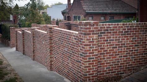 dwyer brick fences brick fence project showcase