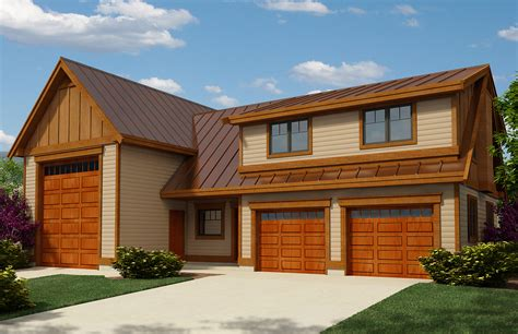 rv garage apartment  guest bed sw architectural designs house plans