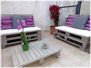 DIY Salon De Jardin La Patte De Notablueta