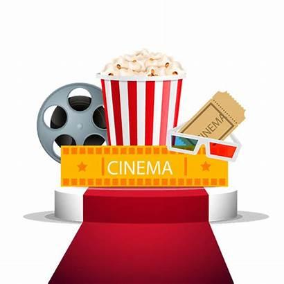 Popcorn Cinema Clip Clipart Transparent Popz Movies