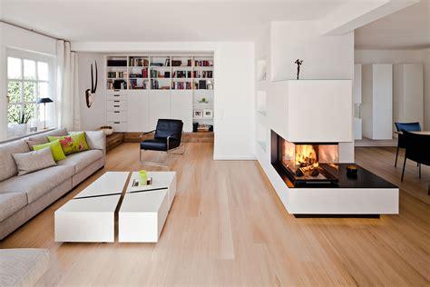 Wohn Essbereich by Offenes Wohnzimmer Mit Kamin