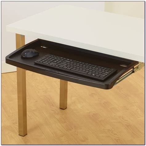 keyboard desk tray desk keyboard tray for glass desk desk home design