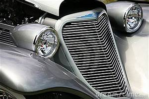 Auto Business Cards Antique Car Grill Headlights Stock Photo Image 2641910