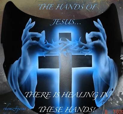 Jesus Prayer Hands Christ Days Blessing Today
