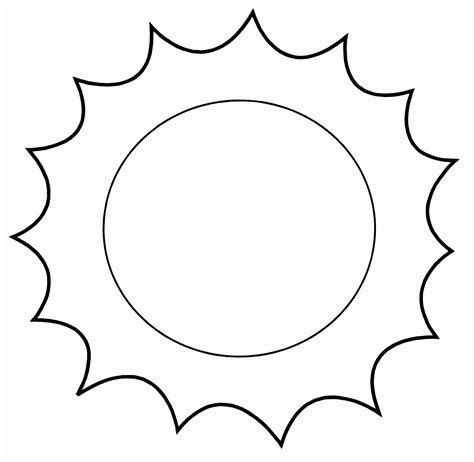 Soles divertidos para colorear Imagui