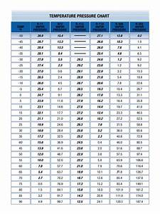 2020 Pressure Temperature Chart Fillable Printable Pdf