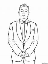 Coloring Psy Celebrity Pages Printable Gangnam Famous Template Categories Styles sketch template