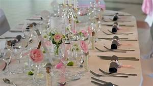 Deco Table Rose Et Gris : decoration mariage gris et rose pale ~ Melissatoandfro.com Idées de Décoration