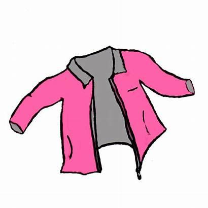 Jacket Clipart Clip Jacke Cliparts Coats Sweater