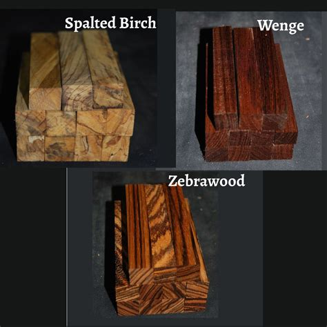 Pen Blanks, Set of 12 - Woodworker Network