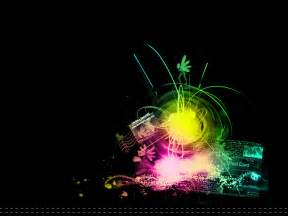 Cool Graphic Art Background