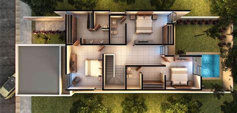 Planos de casas de dos pisos modernas