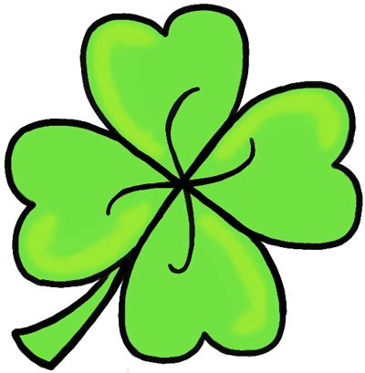four leaf clover st s day drawing archives how to draw step by