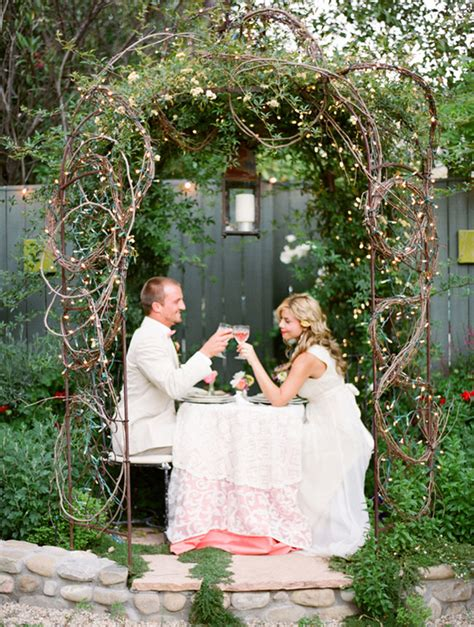 a secret garden wedding