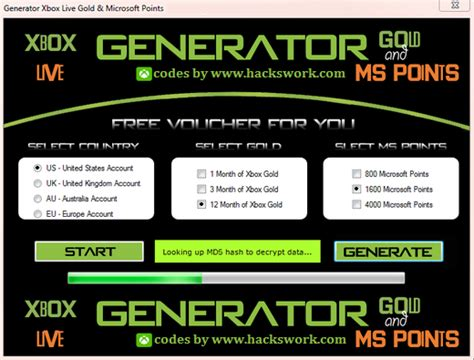 mm xbox live code microsoft points generator 2018
