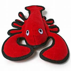 Lobster extra tough dog toy for Extra tough dog toys