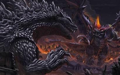 Godzilla Monster Dinosaur Horror Wallpapers Sci Adventure