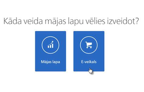 Webnode - Kā izveidot interneta veikalu