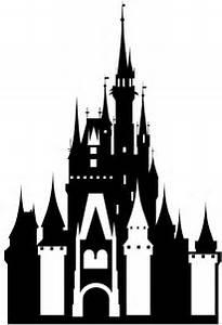 Cinderella's Castle Silhouette   Free vector silhouettes