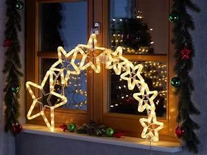 Stern Beleuchtet Weihnachten : lunartec led stern mit schweif weihnachtsdeko kometenschweif mit 120 leds ip44 ~ Markanthonyermac.com Haus und Dekorationen