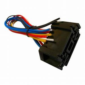 12 Volt Double Socket And Wiring Harness For Single