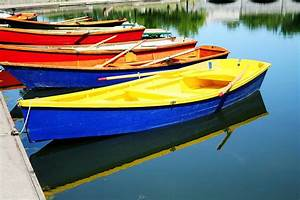 Delaware Park Row Boats Photograph by Heather Allen