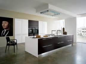 cuisine design bois cuisine design blanche et bois