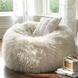 Fuzzy, Bean, Bag, Chair