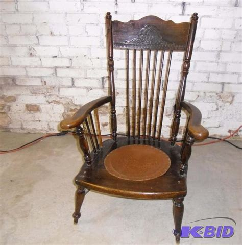 Antique Chair With Leather Seat  Best 2000+ Antique Decor