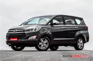 Crysta 2016 Toyota Innova Price