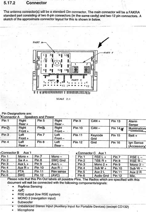 Stereo Wiring Diagram 04 F150 by Ford Car Radio Stereo Audio Wiring Diagram Autoradio