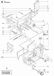 61 Husqvarna Homeowner Chainsaw Crankcase Parts